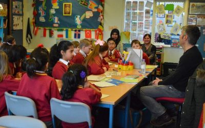 Poetry week at Belgrave St. Bartholomew's Academy