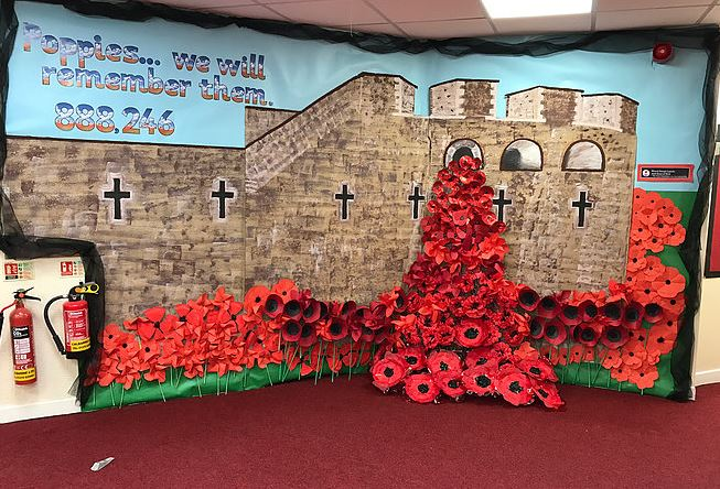 Remembrance Day 2016 across the St. Bart's academies