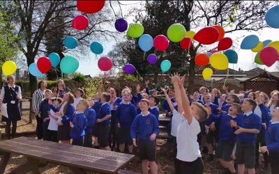 Garden officially opened at Offley in memory of Lucas Carter
