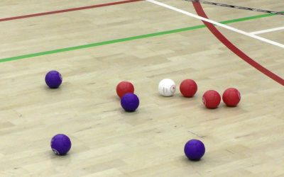 St. Bart's Academy Trust Boccia Tournament starts with a roll!
